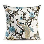 Botanical Chinoiserie Pillow