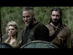 """The History Channels awesome new show Vikings.With the theme music """"If I had a Heart"""" by Fever Ray.Song plays twice to squeeze in more video shield maidens i..."""