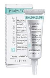 Pharmagel's medically proven intense acne concentrate helps heal acne and prevent breakouts. This formula diminishes skin blemishes as it helps to break the acne cycle. One drop goes a long way!    $40.00