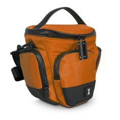 Shoulder SLR Camera Bag: Burnt Orange