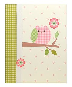 Take a look at this Tan Branch Owl Record Book by pepper pot on #zulily today!  http://www.zulily.com/invite/Zulily20Store