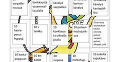 Liikunta-bingo.docx Pe Lessons, Pinterest Photos, Occupational Therapy, Activities For Kids, Bingo, Education, Opi, School, Ideas