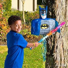 Batman Party Ideas: Games & Activities - Click to View Larger