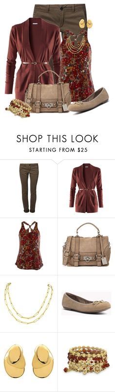 """""""Floral Print"""" by michigangirl84 ❤ liked on Polyvore featuring MKT studio, H&M, Frye, Charlotte Chesnais and BillyTheTree"""