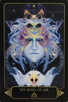 Ravynne Phelan - Dreams of Gaia Tarot and Fantasy Art Orisha, Gaia, Diy Tarot Cards, King Of Swords, Tarot Major Arcana, Oracle Tarot, Tarot Learning, Lotus, Angel Cards