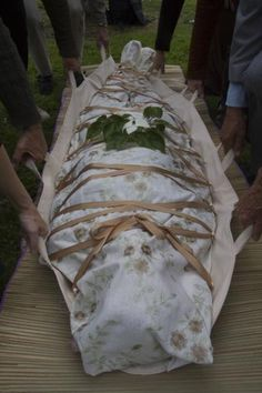 Green Burial Shrouds | Green Burial grounds are serene, Eco-friendly cemeteries
