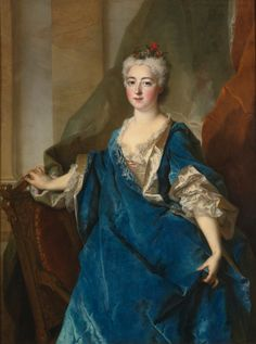 1720s - Baronne de Besenval by Nicolas de Largillière