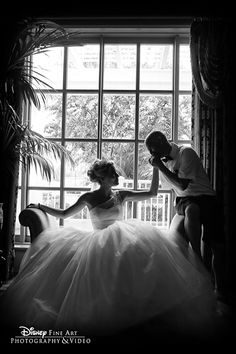 love this photo idea...A romantic kiss for a princess on her wedding day   Disney's Fairy Tale Weddings & Honeymoons