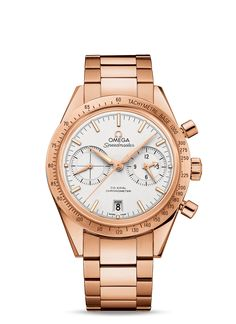 Discover the Speedmaster Speedmaster Omega Co-Axial Chronograph mm Watch - Best Watches For Men, Cool Watches, Iwc, Breitling, Omega Co Axial, Omega Speedmaster, Bracelet Sizes, Stainless Steel Bracelet, Red Gold