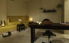 Relaxing interiors at Caravia Beach Hotel.