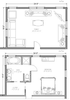 1000 images about addition idea kitchen master suite for Kitchen addition plans