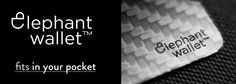 Elephantwallet, wallet, slim wallet, minimalist wallet