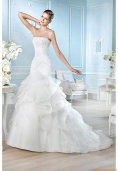 Stickerei Elegante Brautkleider