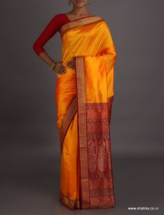 Garima Traditional Color Combination #SambalpuriSilkSaree