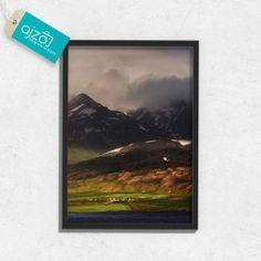 Plakat w ramie Islandia na ścianę do salonu  50x70cm