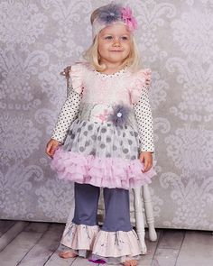 Giggle Moon ``Graced`` Gorgeous Tutu Dress