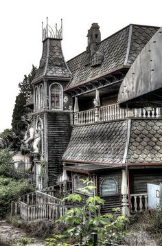 Horror House - abandoned amusement park