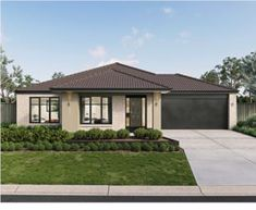 The Delta Metricon design is one of our most popular solutions for growing families due to its space. Discover the Delta floor plans at Metricon now! Modern Bungalow House, Modern House Design, Two Storey House Plans, Delta House, Storey Homes, Display Homes, New Home Designs, Elegant Homes, Home Look