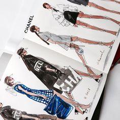 fashion illustrator #fashionillustration #art @marina_sidneva