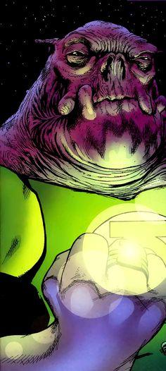 Green Lantern Kilowog by Patrick Gleason