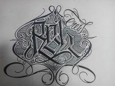 #lettering #letteringtattoo #letteringraffiti #wesoer #hechoentepito