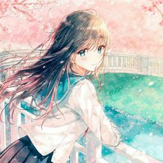 Uploaded by Wendy. Find images and videos about kawaii and anime girl on We Heart It - the app to get lost in what you love. Anime Neko, Manga Anime, Manga Kawaii, Loli Kawaii, Kawaii Anime Girl, Fan Art Anime, Anime Artwork, Anime Art Girl, Anime School Girl