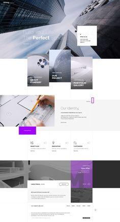 web design - web design on Behance - Minimal Web Design, Grid Web Design, App Design, Web Design Websites, Web Design Mobile, Online Web Design, Web Mobile, News Web Design, Web Design Quotes