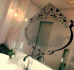 15 Espelhos Sobrepostos na Decoração - Veja Dicas de Como Usar!