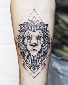 ▷ 1001 + cool lion tattoo ideas for inspiration, . - ▷ 1001 + cool lion tattoo ideas for inspiration, tattoo - Small Lion Tattoo, Lion Head Tattoos, Mens Lion Tattoo, Leo Tattoos, Tattoos For Guys, Lion Tattoos For Men, Lion Tattoo Design, Music Tattoo Designs, Tattoo Designs Men