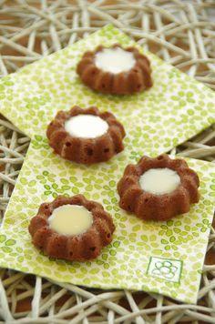 Monocles Nutella et chocolat blanc - Le blog de novice en cuisine
