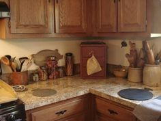 High Quality A Primitive Place ~ Primitive U0026 Colonial Inspired Kitchens