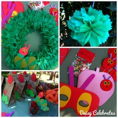 The Very Hungry Caterpillar Birthday party Printables