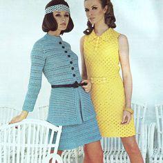 Vintage Crochet Pattern PDF   1970s Mini by PastPerfectPatterns, £1.95