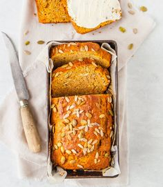 This Wholemeal Sweet Potato Bread is nut, sugar and dairy free, making it an ideal recipe for a healthy morning or afternoon tea. Healthy Mummy Recipes, Snack Recipes, Cooking Recipes, Healthy Snacks, Ww Recipes, Healthy Dinners, Healthy Cooking, Healthy Habits, Healthy Choices