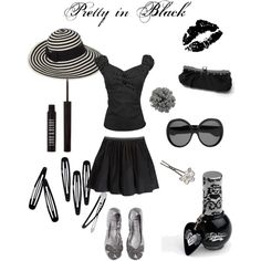 Pretty in Black, created by smbsammers.polyvore.com