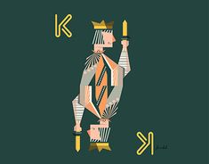 -king- brand stuff by own New Work, Behance, Nyc, King, Gallery, Check, Illustration, Fictional Characters, Behavior