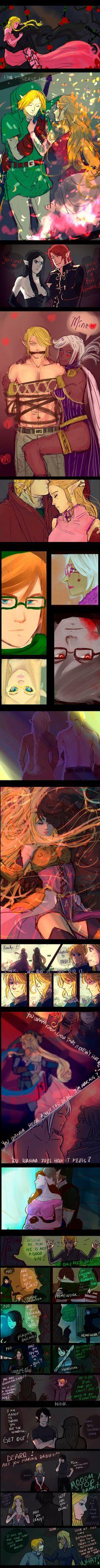 +(- The legend of Zelda doodles [11] -)+ by AngelJasiel