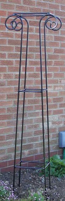 Classic decorative iron obelik