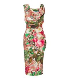 VIVIENNE WESTWOOD Multicolour Ginnie Pencil Dress. #viviennewestwood #cloth #
