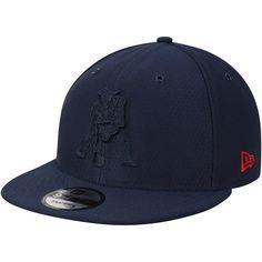 Men s New England Patriots New Era Navy Kickoff Reverse Color Rush 9FIFTY  Adjustable Hat 0956323f6