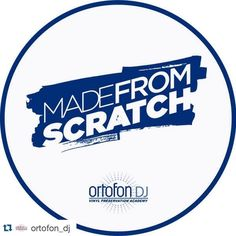 """In conjunction with the """"Made From Scratch"""" needles coming out next month Ortofon are going all out with the release and putting out some matching MFS slipmats! Shout out to Ortofon for giving turntablists an opportunity to put out professional signature models along their line of legendary products  Repost @ortofon_dj with @repostapp.  Announcing the new Ortofon Made From Scratch slipmat. High quality 12"""" slipmats pair. Designed by @deejaynd and with the support of @kartezki. Coming right…"""