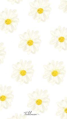Plain Wallpaper Iphone, Daisy Wallpaper, Vintage Flowers Wallpaper, Hipster Wallpaper, Watercolor Wallpaper, Cute Patterns Wallpaper, Bear Wallpaper, Iphone Background Wallpaper, Aesthetic Pastel Wallpaper