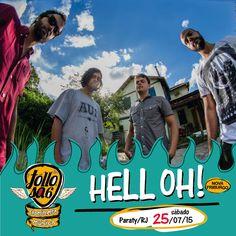 Conheçam a Hell Oh! No melhor estilo garage rock, a banda de Nova Friburgo é presença confirmada no dia 25/7, no Festival Tollosa.  Assistam o clipe de Hell Oh! em: https://www.youtube.com/watch?v=kTCgu_W-9rg  #Tollosa #FestivalTollosa #experimentemúsica #HellOh #Paraty #Música #FestivalDeMúsica #rock #bandasindependentes #cultura #turismo #arte #Paraty #TurismoParaty #PousadaDoCareca