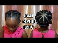 African threading for kids | very simple and easy! - YouTube