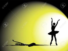 10912714-A-vector-illustration-of-a-ballerina-on-stage-Silhouette-with-dramatic-shadow-and-lighting-Stock-Vector.jpg (1300×975)