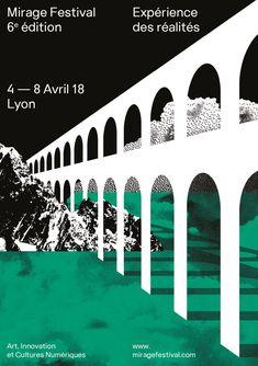 Mirage Festival - Art, Innovation et Cultures Numériques Web Design, Book Design, Design Art, Graphic Design Agency, Graphic Art, Best Books To Read, Good Books, Lyon, Festival D'art