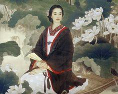 wang meifang art | Художники Wang Meifang, Zhao Guojing. « Картины и ...