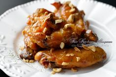 Spicy Thai Peanut Sauce Crispy Baked Oven Fried Wings - The Kitchen Whisperer