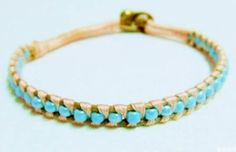 How to make bracelets with beads by Ada123