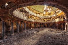 The abandoned buildings of the Eastern bloc. Urban exploration. - BBC